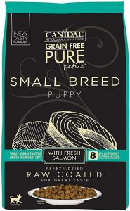 CANIDAE- Grain-Free PURE Petite Salmon Formula Small Breed Diet Freeze-Dried Raw Coated Dry Dog Food