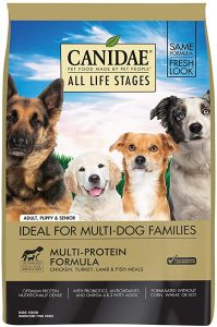 CANIDAE Life Stages Dry Dog Food for Puppies, Adults, & Seniors