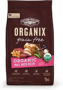 Castor & Pollux Organix- Grain-Free Organic Small Breed Recipe Dry Dog Food