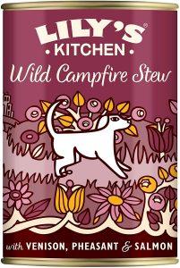 Lily's Kitchen Adult Wild Campfire Stew Wet Dog Food, 6 x 400g