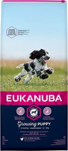 Eukanuba Puppy Dog Food for Medium Dogs Rich in Fresh Chicken