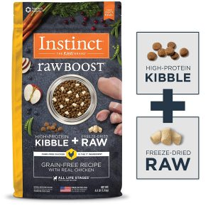Instinct- by Nature's Variety Raw Boost Small Breed Grain-Free Recipe with Real Chicken Dry Dog Food