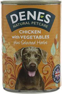 Denes Complete Adult Wet Dog Food Chicken and Vegetables, 12 x 400 g