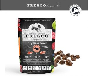 Fresco Dog Dry Raw Food Complete Plus Beef pack size 5kg.