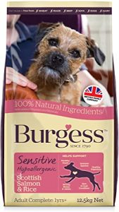 Burgess Sensitive Hypoallergenic Dog Food Scottish Salmon and Rice 12.5 kg