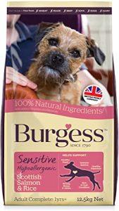 Burgess Sensitive Hypoallergenic Dog Food Scottish Salmon and Rice 12.5 kg
