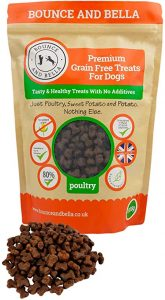Bounce and Bella Grain-Free Dog Training Treats