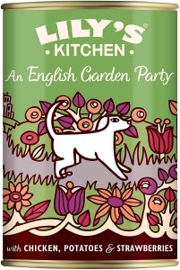 Lily's Kitchen Adult An English Garden Party Wet Dog Food, 6 x 400g