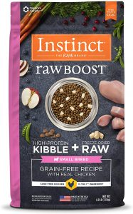 Instinct Raw Boost Kibble + Raw Small Breed