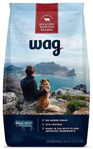 Wag Dry Dog Food, 35% Protein, No Added Grains