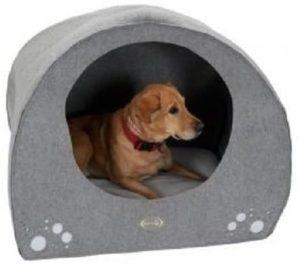 Zooplus Washable Dog bed igloo comfortable medium indoors den