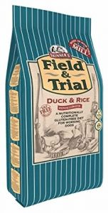 Skinner's Field & Trial Complete Dry Adult Working Dog Food Duck and Rice, 15 kg