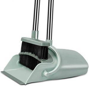 Chouqing Dust Pan and Broom, Ideal for Dog Cat Pets