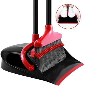 Homemaxs Broom and Dustpan
