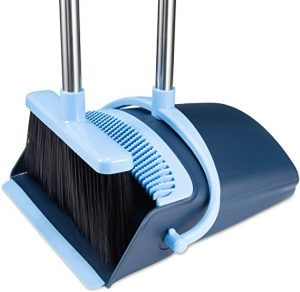 OLLSDIRE Broom and Dustpan
