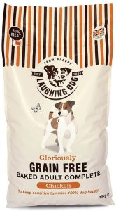 Laughing Dog - Gloriously Grain Free Adult Complete Chicken - Gluten-Free Dry Dog Food with No Artificial Colours, Perfect for Sensitive Tummies, 10kg