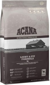 Acana Light and Fit Formula Dog Food