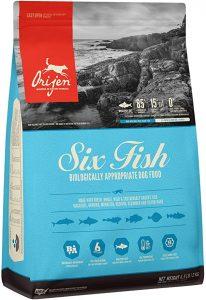 Orijen Six Fish High Protein Dog Food
