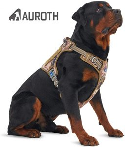 Auroth Tactical Dog Harness No Pulling Adjustable Pet Harness