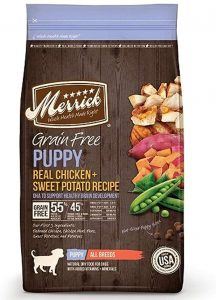 Merrick Grain-Free Puppy Real Chicken & Sweet Potato Recipe