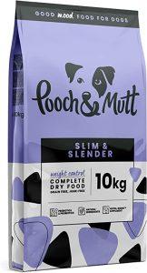Pooch & Mutt - Complete Dry Dog Food - Slim & Slender (Grain Free & 100% Natural) - Chicken & Sweet Potato, 10kg