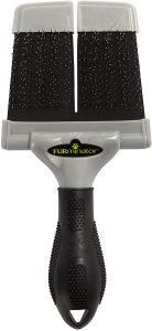 FURminator Firm Slicker Brush for Dogs