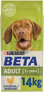 BETA Adult Dry Dog Food Chicken, 14kg