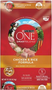 Purina One SmartBlend Chicken and Rice Dry Formula