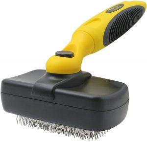 Pet Republique Self-Cleaning Slicker Brush