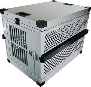 Impact Collapsible, Durable Aluminum Dog Crate