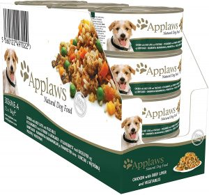 Applaws Dog Tin Chicken Breast with Beef Liver and Vegetables, 12 x 156g