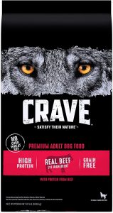 Crave with Protein from Beef