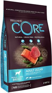 Wellness CORE Ocean Dog Food Dry Grain-Free - Salmon & Tuna, 10 kg