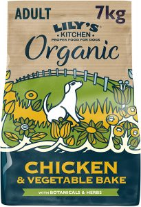 Lily's Kitchen Adult Chicken & Vegetable Bake Complete Organic Dry Dog Food (7kg)