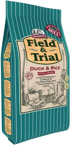 Skinner's Field & Trial Complete Dry Adult Working Dogstays Food Duck and Rice, 2.5 kg