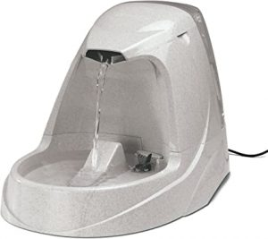 Petsafe Drinkwell Platinum Pet Fountain - Automatic Drinking Fountain for Cats and Dogs, Filtered Water, 5 Litre