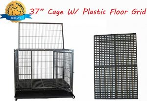 Homey Pet Open Top Heavy-Duty Dog Kennel
