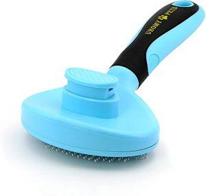 Uhomy Pets Self-Cleaning Slicker Brush