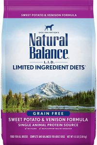 Natural Balance L.I.D. Limited Ingredient Diets Dry Dog Food, Grain-Free