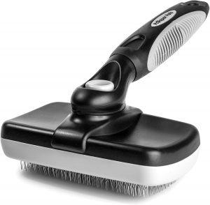 Prosper Pets Self Cleaning Slicker Brush – Grooming Brush for Dogs with Short, Medium or Long Hair