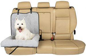 PETSAFE HAPPY RIDE CAR CUDDLER DOG BED