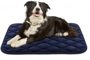 AIPERRO DOG CRATE PAD WASHABLE DOG BED