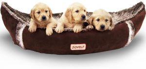 Joyelf Dog Bed with Removable & Washable Cover