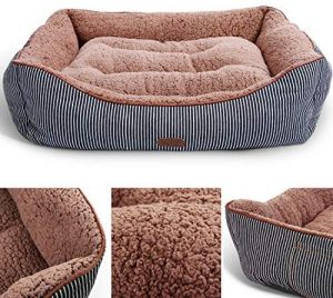 SMILING PAWS PETS WASHABLE PREMIUM DOG BED