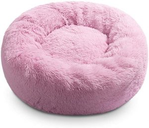 Hollypet Self-Warming Donut Pet Bed