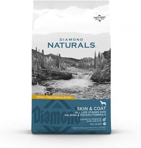 DIAMOND NATURALS SKIN & COAT REAL SALMON AND POTATO RECIPE DRY DOG FOOD