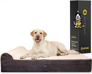 Kopeks Store High Grade Orthopedic Memory Foam Dog Bed