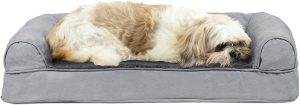Furhaven Pet - Packable, Plush & Mid-Century Modern Dog Bed Frame for Dogs & Cats - Multiple Styles, Sizes, & Colors