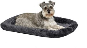 MidWest Bolster Pet Bed, Dog Beds Ideal for Metal Dog Crates