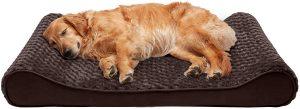 Furhaven Pet - Plush Ergonomic Contour Cradle Dog Bed